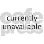 Black Glossy Heart Anti Valentine Teddy Bear