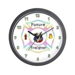 Future Firefighter Wall Clock