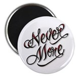 """Never More Anti Love Tattoo 2.25"""" Magnet (100 pack"""