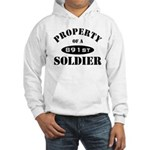 Property of a 891st Soldier Hooded Sweatshirt