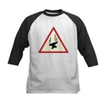 Heavy Precipitation Kids Baseball Jersey