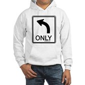 Left Only Hooded Sweatshirt