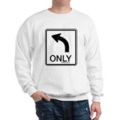 Left Only Sweatshirt