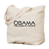 Logical Obama Tote Bag