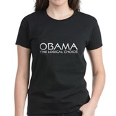 Logical Obama Women's Dark T-Shirt