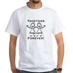 Together Forever Lesbian White T-Shirt