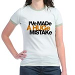 I've Made a Huge Mistake Jr. Ringer T-Shirt