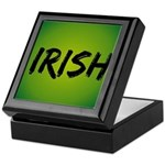 Irish Handwriting Keepsake Box