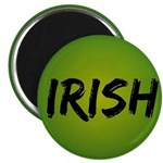 "Irish Handwriting 2.25"" Magnet (100 pack)"