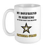 National Guard - My Boyfriend Large Mug
