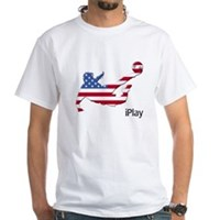 iPlay USA White T-Shirt