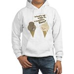 Vanilla Face Hooded Sweatshirt