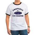 Property of US Coastie Ringer T