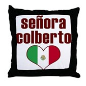 Senora Colberto Throw Pillow