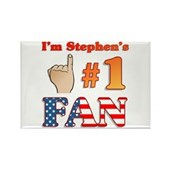 I'm Stephen's #1 Fan Rectangle Magnet