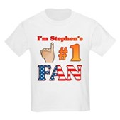 I'm Stephen's #1 Fan Kids Light T-Shirt