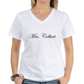 Mrs. Colbert Women's V-Neck T-Shirt