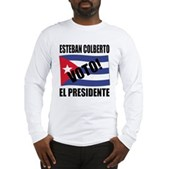 Voto! Esteban Colberto Long Sleeve T-Shirt