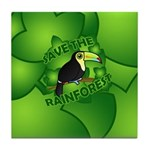 Save the Rainforest Tile Coaster