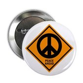 Peace Ahead Button