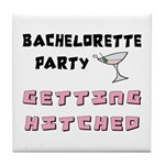 Getting Hitched Tile Coaster
