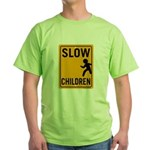 Slow Children Green T-Shirt