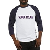 Scuba Freak Baseball Jersey