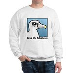 Save the Albatross (close-up) Sweatshirt