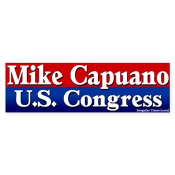 Michael Capuano for U.S. Congress bumper sticker