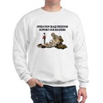 OIF Support our Soldiers Sweatshirt