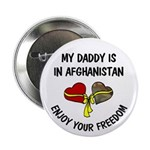 "Daddy Afghanistan Freedom 2.25"" Button (10 pack)"