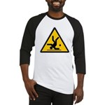 Warning: Clumsy! Baseball Jersey