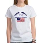 Proud Parent American Soldier Women's T-Shirt