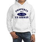 Property of a US Airman USAF Hooded Sweatshirt