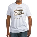 Everyone Loves A Region Rat Fitted T-Shirt