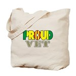 Proud Vietnam Veteran Vet Tote Bag