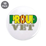 "Proud Vietnam Veteran Vet 3.5"" Button (10 pack)"
