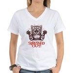 Stressed Out Women's V-Neck T-Shirt