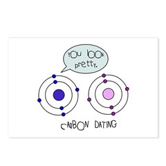 Carbon Dating Postcards (Package of 8)