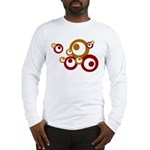 Retro Orange Circles Long Sleeve T-Shirt