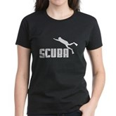 Scuba Women's Dark T-Shirt