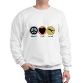 Peace Love Dive Sweatshirt
