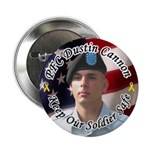 "For Darlene Custom Military 2.25"" Button (10 pack)"