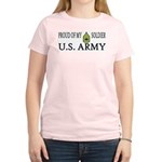 SFC - Proud of my soldier Women's Pink T-Shirt
