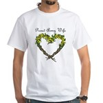 Proud Army Wife White T-Shirt