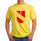 Scuba Flag Letter U Yellow T-Shirt