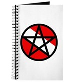 Scuba Flag Pentagram Journal