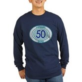 50 Logged Dives Long Sleeve Dark T-Shirt