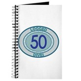 50 Logged Dives Journal