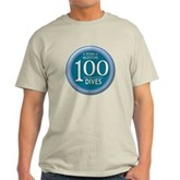 100 Dives Milestone Light T-Shirt